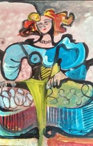 Menina Picassiana 2