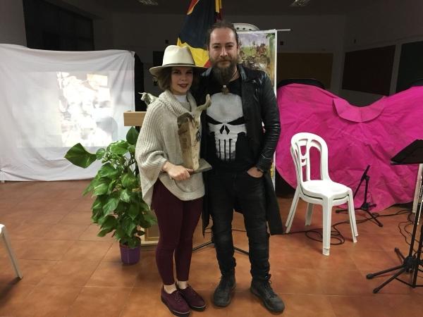 Blanca Arévalo y Kurt