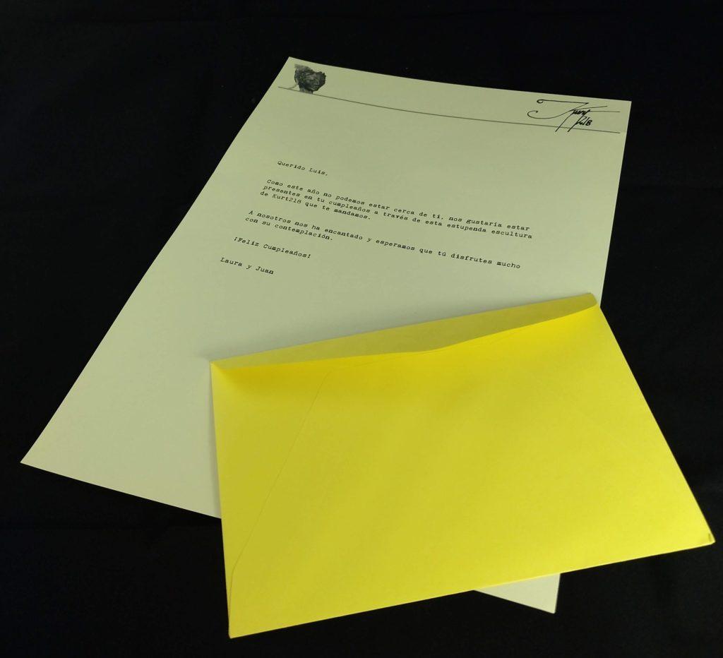 La carta para regalo
